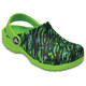 Crocs Classic Graphic Clogs Kids Volt Green